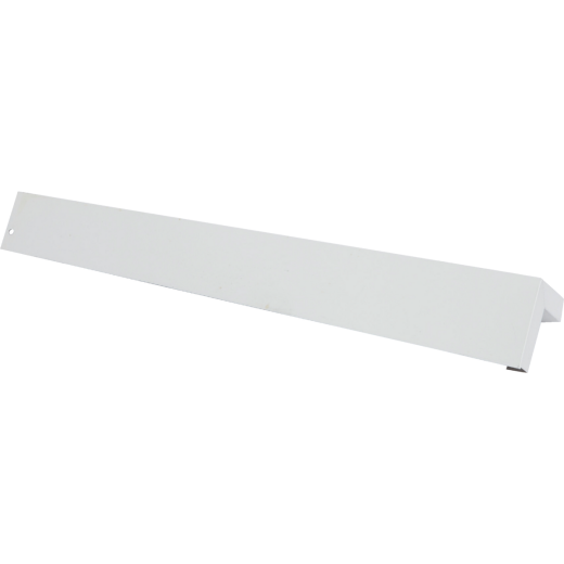 Amerimax 3/8 In. x 9 In. White Aluminum Smooth Siding Corner