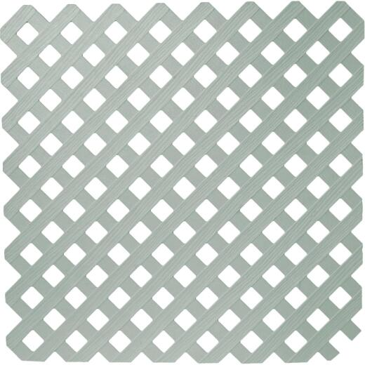 Dimensions 4 Ft. W x 8 Ft. L x 1/8 In. Thick Paintable Vinyl Privacy Lattice Panel