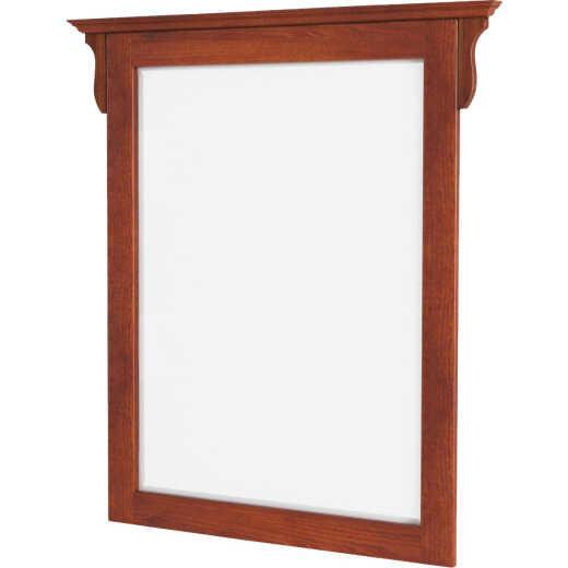 CraftMark Craftsmen Estate Oak 30 In. W x 38 In. H Vanity Mirror
