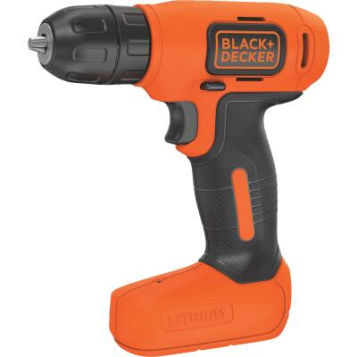 Black & Decker 8 Volt Lithium-Ion 3/8 In. Cordless Drill Kit