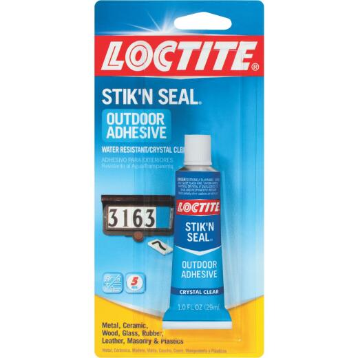 LOCTITE Stik'N Seal 1 Oz. Outdoor Multi-Purpose Adhesive
