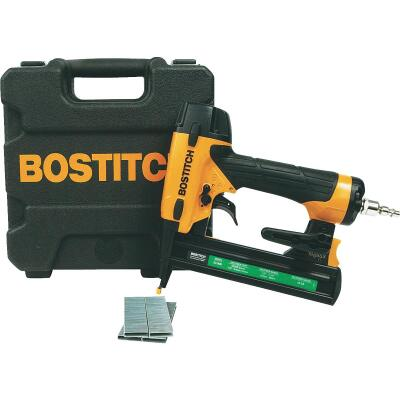 Bostitch 18-Gauge 7/32 In. Crown 1-1/2 In. Finish Stapler Kit