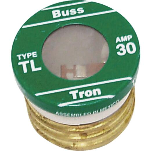 Bussmann 30A TL Time-Delay Plug Fuse (4-Pack)
