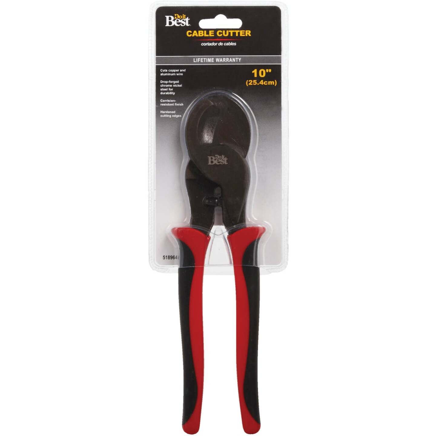 Do it Best 10 In. 4/0 AWG Aluminum & 2/0 AWG Copper Cable Cutter Image 2