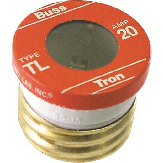 Bussmann 20A BP/TL Time-Delay Plug Fuse (3-Pack)