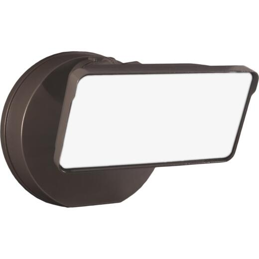 Halo Lumen Selectable Bronze Single Head LED Floodlight Fixture