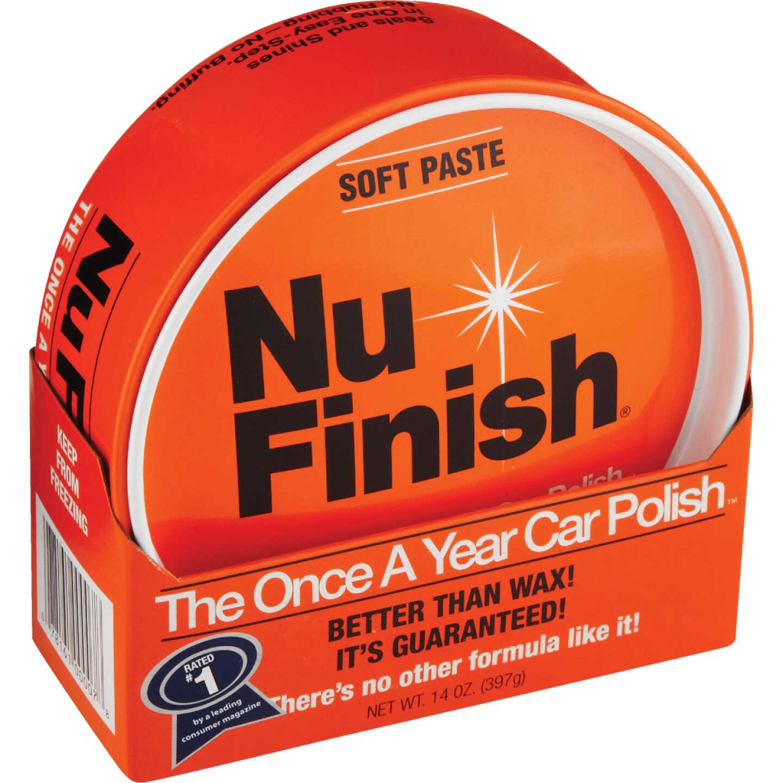 Nu Finish 14 Oz. Polish Car Wax Image 1