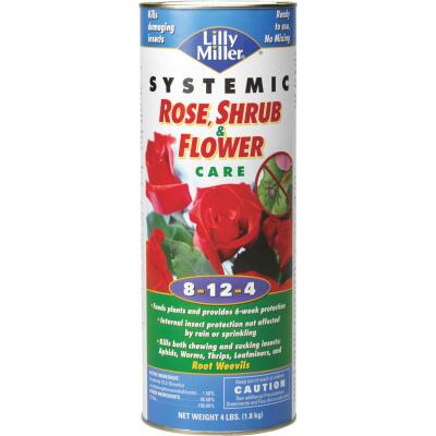 Lilly Miller 4 Lb. 8-12-4 Systemic Rose & Flower Care Dry Plant Food
