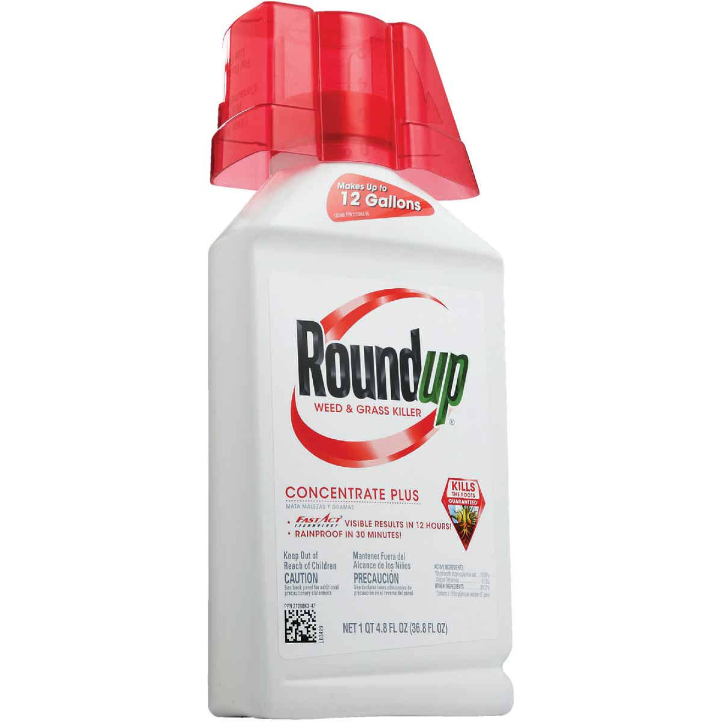 Roundup 36.8 Oz. Concentrate Plus Weed & Grass Killer Image 4