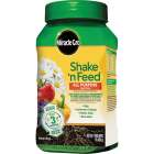 Miracle-Gro Shake N' Feed 1.5 Lb. 12-4-8 All-Purpose Dry Plant Food Image 1