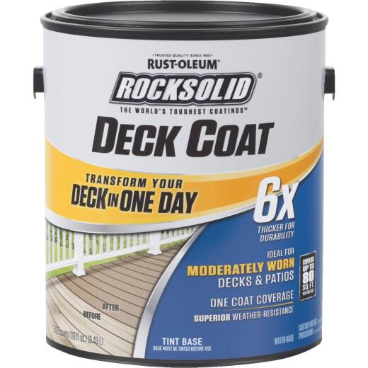 Rust-Oleum RockSolid Tint Base Deck Coat, 1 Gal.