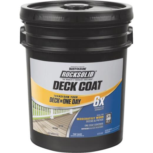 Rust-Oleum RockSolid Tint Base Deck Coat, 5 Gal.
