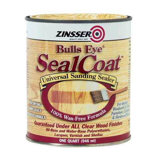 Bulls Eye SealCoat Sanding Sealer, 1 Qt.