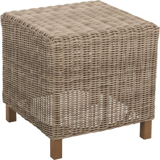 Cambria 20 In. W. x 20 In. L. Wicker End Table