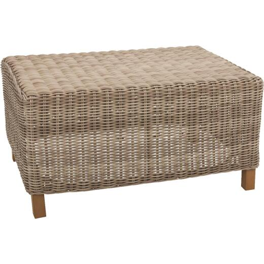 Cambria 24 In. W. x 34 In. L. Wicker Coffee Table